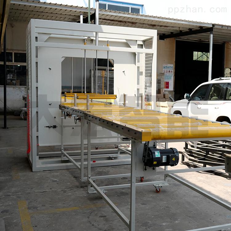 大宏建材管材镀锌管水平缠绕包装机