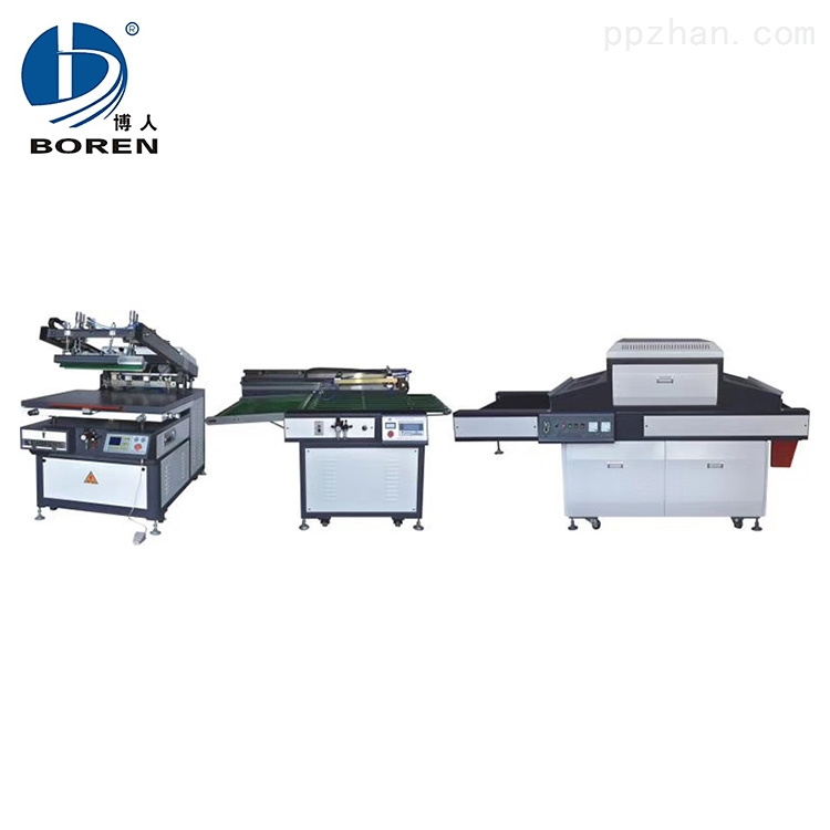局部UV丝网印刷生产线