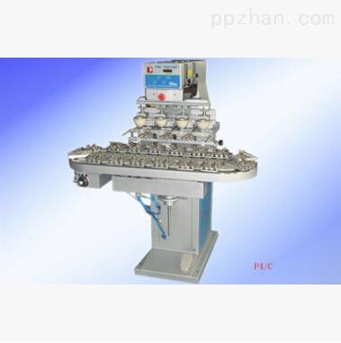 东莞P4S四色穿梭移印机 P4S四色穿梭移印机