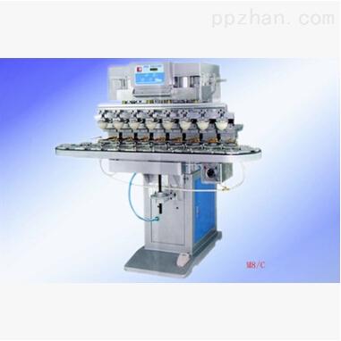 东莞八色转盘移印机生产厂家 八色运输带移印机适用于玩具行业