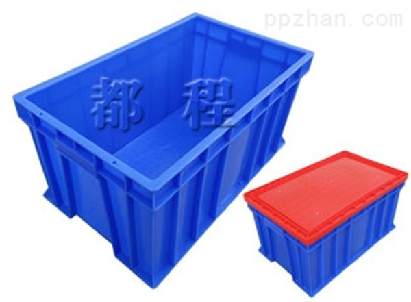 X248塑料周转箱(箱盖可选)